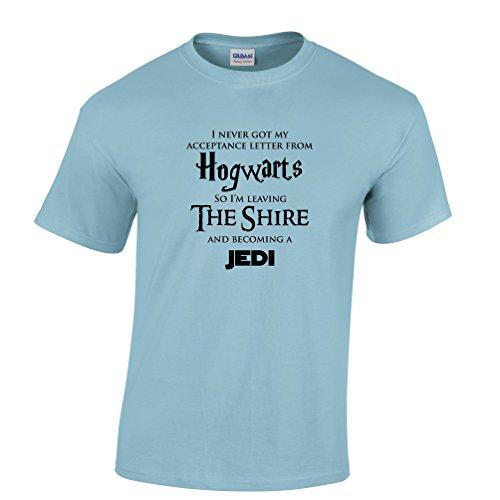 HOGWARTS LOTR JEDI Tshirt Star Wars Hobbit Harry Potter Lord of The Rings