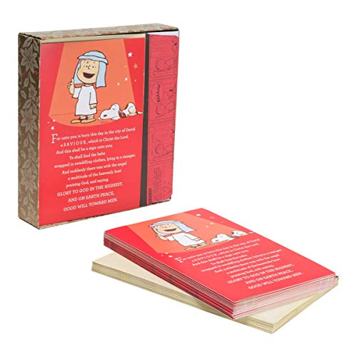 Christmas Boxed Cards - Peanuts - That's What Christmas is All About -