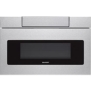 """Sharp SMD2470AS Microwave Drawer Oven, 24"""" 1.2 Cu. Feet, Stainless Steel"""