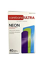 Careband Ultra 62947 Assorted Anti-Bacterial Bandages, Pack of 200