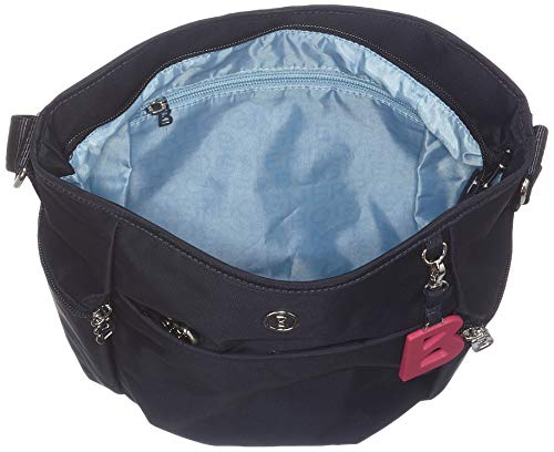 De Verbier Mujer Bogner Azul Bolsa dark Lhz Blue Aria Shoulderbag Hombro RfdxX6wq