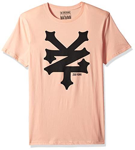 Zoo York Men's Short Sleeve Cracker T-Shirt, chai, Large ()
