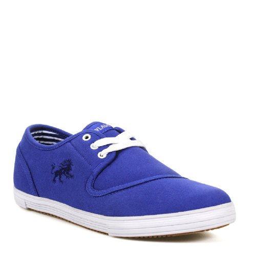 VLADO FOOTWEAR - LEO Baskets en toile bleue - Homme