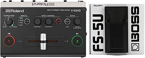 roland video mixer - 6