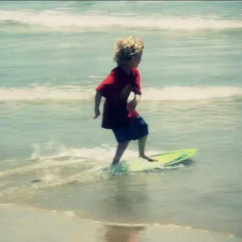 D6 SPORTS Surf Skimmer Wood Skimboard, 41-Inch, Green