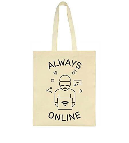 Boy Always Computer Tote Bag Online Always Online With BPF4HBwq