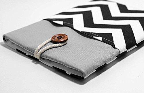 Blue-Chevron-Macbook-12-Case-with-Pocket-Macbook-Pro-13-Cover-Laptop-Sleeve
