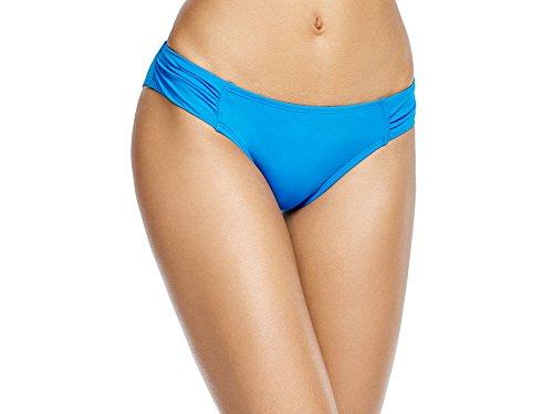 Tommy Bahama Women's Shirred Hipster Bikini Bottom Small, Sailor Blue