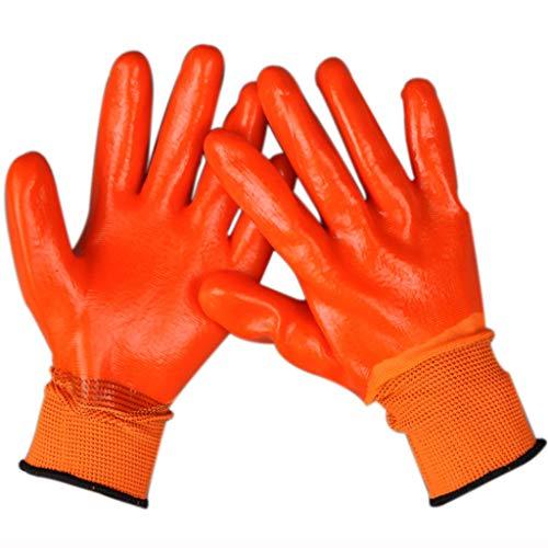 12 trabajo terciopelo bufanda guantes grueso protecci para hombres Estuche y pares Fw8RRX