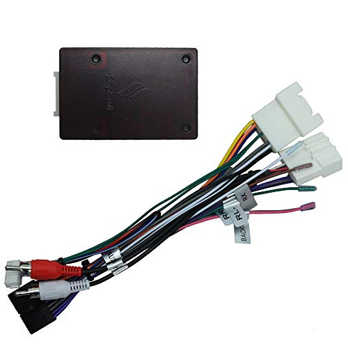 Toyota Camry Alarm - SWTNVIN J BL Adapter Harness Fit for J BL Speakers System Car Stereo in Toyota Camry