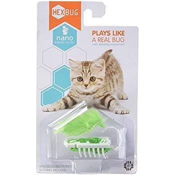hexbug mouse robotic cat toy instructions