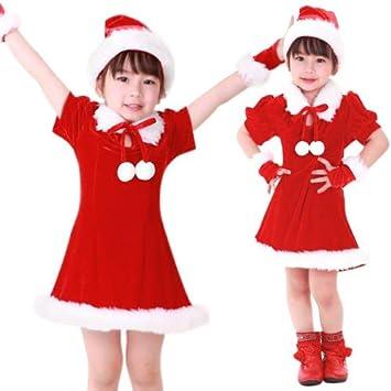 Amazon.com: Navidad Papá Noel Suit Disfraz de Vestido Santa ...