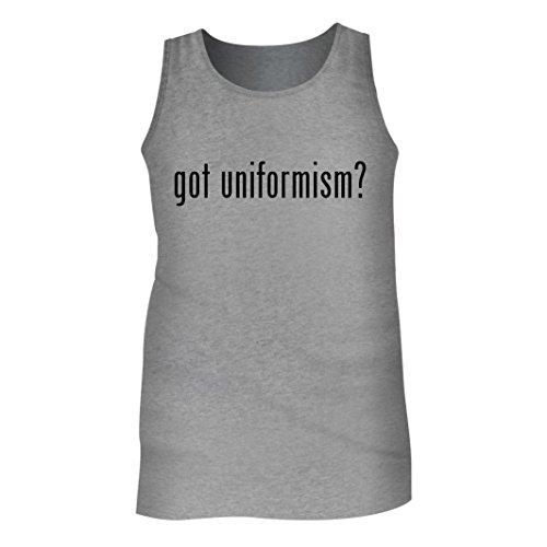 Tracy Gifts Got uniformism? - Men's Adult Tank Top, Heather, Large