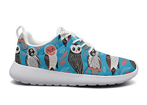 huge selection of 0e0bf b9994 rttyl et67u67 et67u67 rttyl Breathable Sneaker Womens Ladies Fashion  Valentines Owls with Fun Animals Hunting Running Shoes B07G38LVJZ Shoes  b11e31