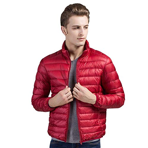 Rouge Jacket Nnen De Mode Biran Haute Design Col Hommes D'hiver Único Down En Manteau Duck Stand Qualité BqR5awq