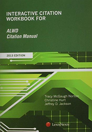 Interactive Citation Workbook for ALWD Citation Manual
