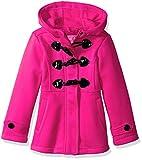 #6: Pink Platinum Girls' Fleece Toggle Jacket
