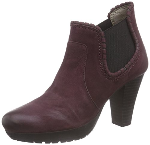 Rot ShoesElba Chelsea Aubergine Rojo Mujer Marc Botines 690 EH8aXwpHqx