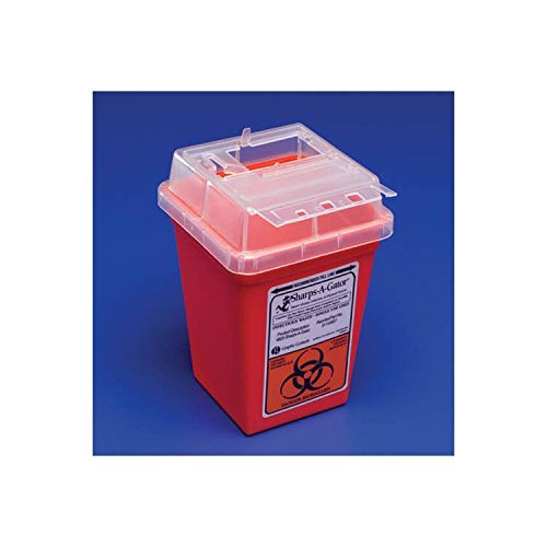Kendall Sharps-A-Gator Container, 2 Gallon