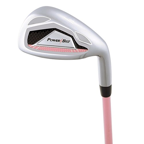 PowerBilt Girls 7-Iron Ages 5-8 Golf Stick, Right Hand, Pink