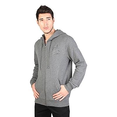 Calvin Klein Mens Harden Long Sleeve Zip Up Hoodie