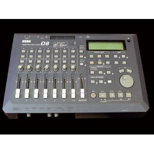 Korg D8 Digital Audio Multi Track Recorder