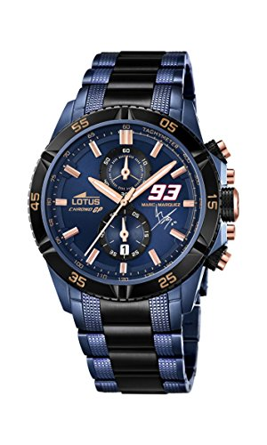 Lotus Men's 18230/1 Marc Marquez Chrono GP Limited Edition Analogue Quartz with Additional Strap and Jewellery Bracelet