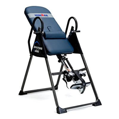 Ironman Inversion Table with Memory Foam from Paradigm Health and Wellness Inc