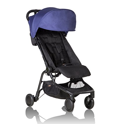 Mountain Buggy Nano Stroller V2 (2016) Nautical by Mountain Buggy