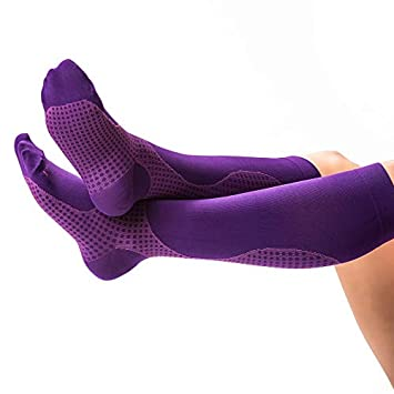 04802c2fb Colorful Compression Stockings for Women & Men, Knee-high Compression Socks  for Nurses,