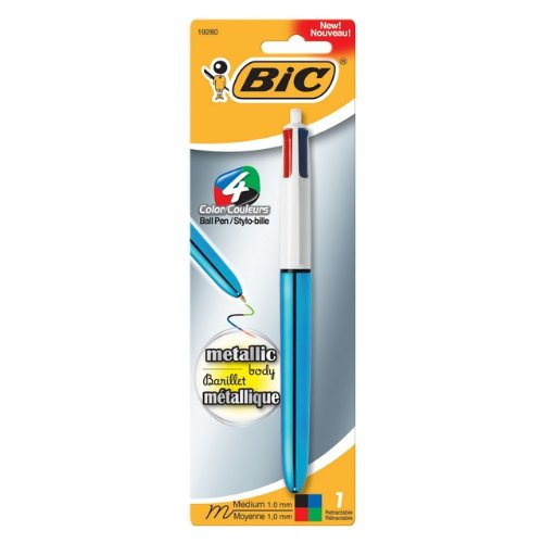 Bic Mmmtp11 Ast Color Metallic Ballpoint product image