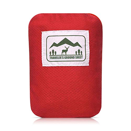 """""""Pocket Blanket"""" (Traveler's Ground Sheet) for Hiking, Camping, Beach and Picnic – Water Resistant, Compact Storage…"""