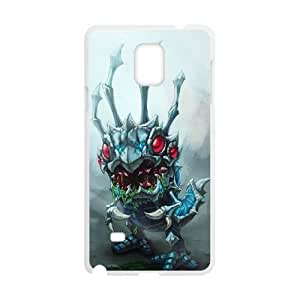 samsung_galaxy_note4 phone case White Kog Maw HUI4597037