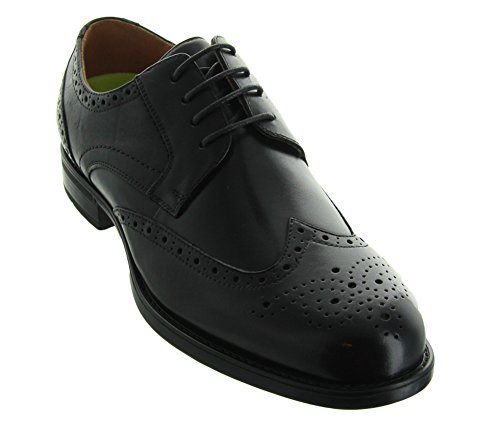 Mens Wingtip Shoes (Florsheim Mens Midtown Wingtip Black Oxford - 10.5 D)