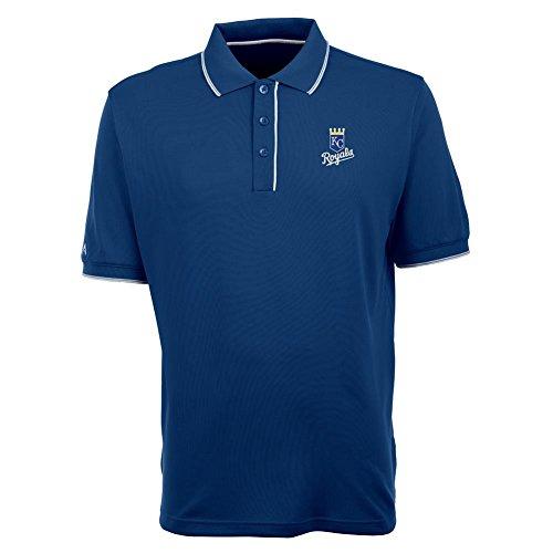 - Kansas City Royals Mens Elite Polo Shirt (Team Color: Royal) - XXX-Large