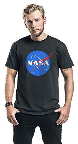 Nasa-Circle-Logo-Camiseta-Negro es