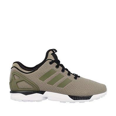 5738ebf9ab60 adidas ZX Flux NPS Shoes - Dark Cargo - 4.5  Amazon.co.uk  Shoes   Bags