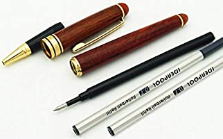 Natural Handcrafted Rosewood Ballpoint Pen in Rosewood Gift Box