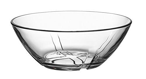 - Kosta Boda Bruk 19.8 Ounce Bowl, Clear