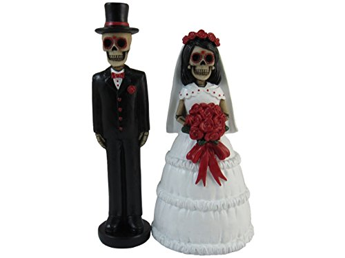 Day of the Dead Bride and Groom Figurines