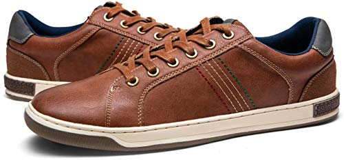 Pictures of JOUSEN Men's Casual Shoes Retro Fashion Classic Casual Fashion Sneakers 3