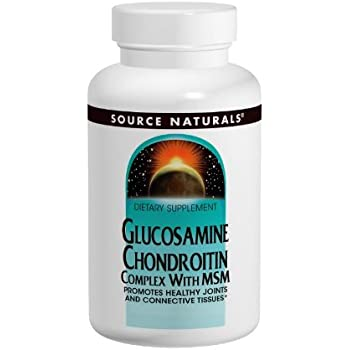 Source Naturals Glucosamine Chondroitin Complex with MSM, Promotes Healthy Joints and Connective Tissues, 240 Tablets