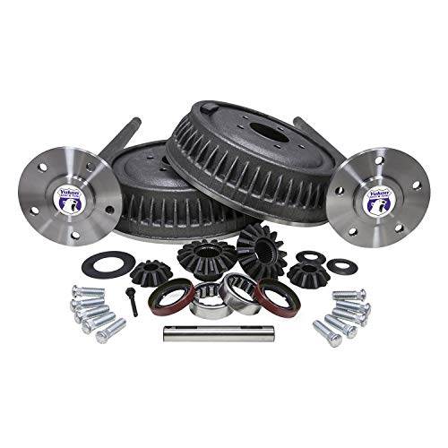 Bearing Spider (Yukon Gear YA G6364RACK 5 Lug Conversion Kit For GM 12 Bolt Truck Incl. 2 Axles Axle Bearings And Seals 30 Spline Spider Gear Kit And Studs 5 Lug Conversion Kit)