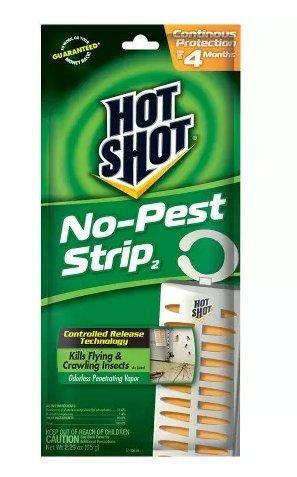 - Hot Shot No-Pest Strip 2.29 oz. Pack of 6