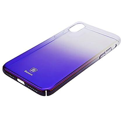"online store 9900e edfe6 Baseus Glaze Case For ""iPhone X"" Ultra: Amazon.in: Electronics"