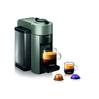 Nespresso GCC1-US-GR-NE VertuoLine Evoluo Coffee and Espresso Maker, Grey