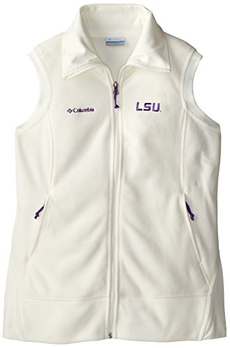 (NCAA LSU Tigers Give and Go Vest, Sea Salt, Small)