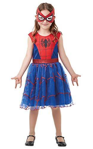 Rubie's Official Marvel Spider-Girl Deluxe Childs Costume, Kids Superhero Fancy Dress