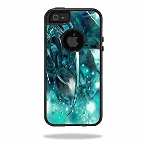 Mightyskins Protective Vinyl Skin Decal Cover for OtterBox Commuter iPhone 5/5s/SE Case Cell Phone wrap sticker skins Distortion