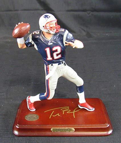 Tom Brady The Danbury Mint Figure Statue Figurine Patriots